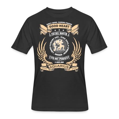 Zodiac Sign - Aquarius - Men's 50/50 T-Shirt