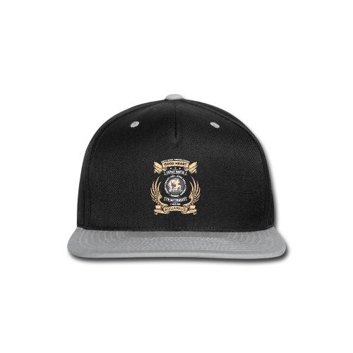 Zodiac Sign - Aquarius - Snap-back Baseball Cap