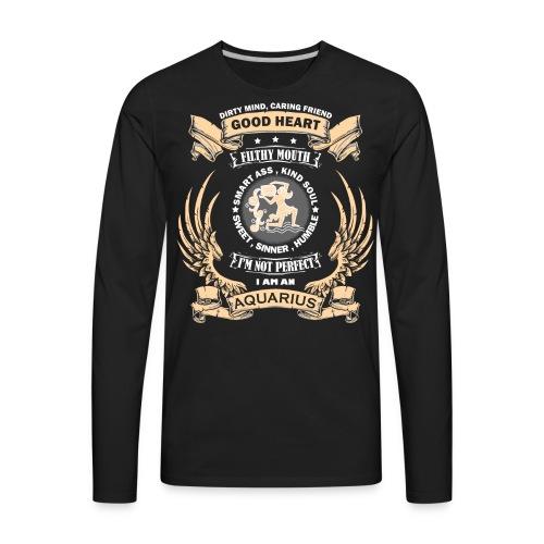 Zodiac Sign - Aquarius - Men's Premium Long Sleeve T-Shirt