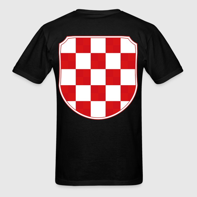 Croatia Hrvatska Coat of arms Sahovnica T-Shirts - Men's T-Shirt