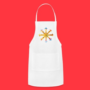 Red Hot Chili Cheese Fries Bandanna  - Adjustable Apron