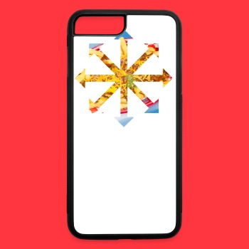 Red Hot Chili Cheese Fries Bandanna  - iPhone 7 Plus/8 Plus Rubber Case