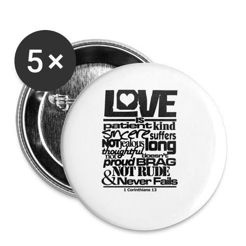 LOVE IS - Men - Small Buttons