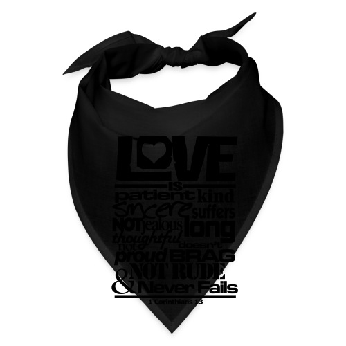 LOVE IS - Men - Bandana