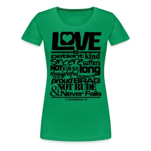 LOVE IS - Women - Women's Premium T-Shirt