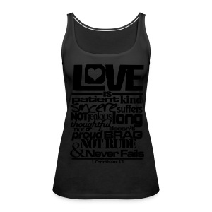 LOVE IS - Women - Women's Premium Tank Top