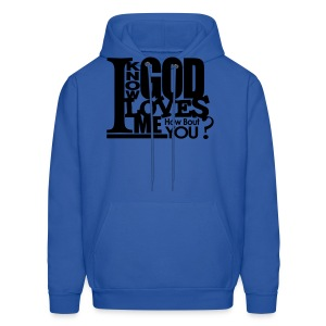 God Loves Me - Men - Men's Hoodie
