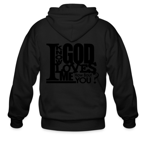God Loves Me - Men - Men's Zip Hoodie