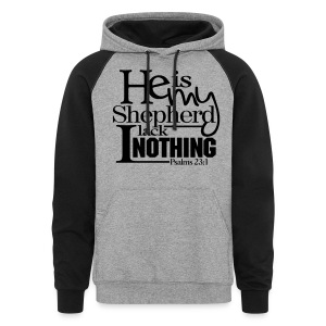 He is My Shepherd - Men - Colorblock Hoodie
