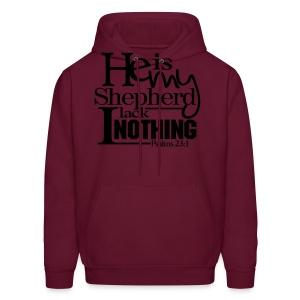 He is My Shepherd - Men - Men's Hoodie
