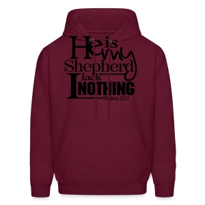 He is My Shepherd - Men - Men's Hoodie