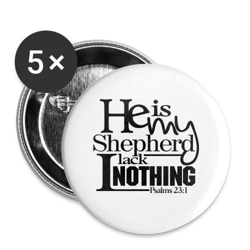 He is My Shepherd - Men - Large Buttons