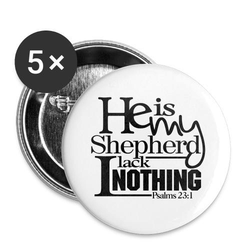 He is My Shepherd - Men - Small Buttons