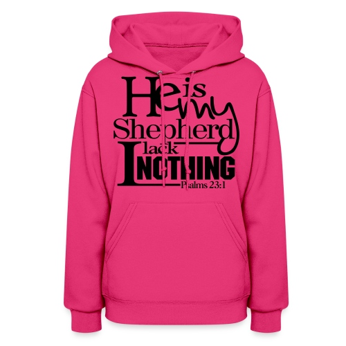 He is My Shepherd - Men - Women's Hoodie