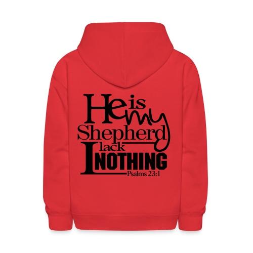 He is My Shepherd - Men - Kids' Hoodie