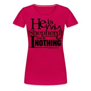 He is My Shepherd - Men - Women's Premium T-Shirt