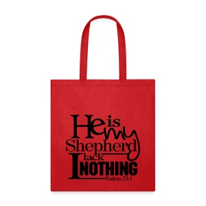 He is My Shepherd - Men - Tote Bag