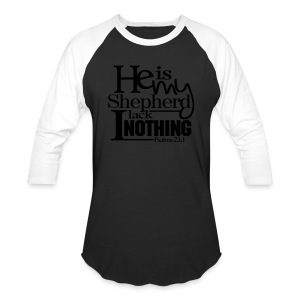He is My Shepherd - Men - Baseball T-Shirt