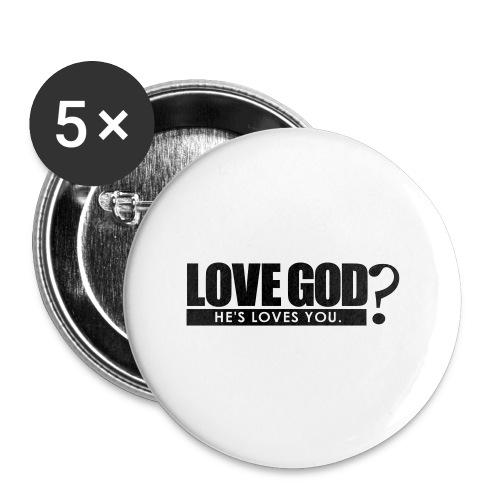 Love God? - Men - Large Buttons
