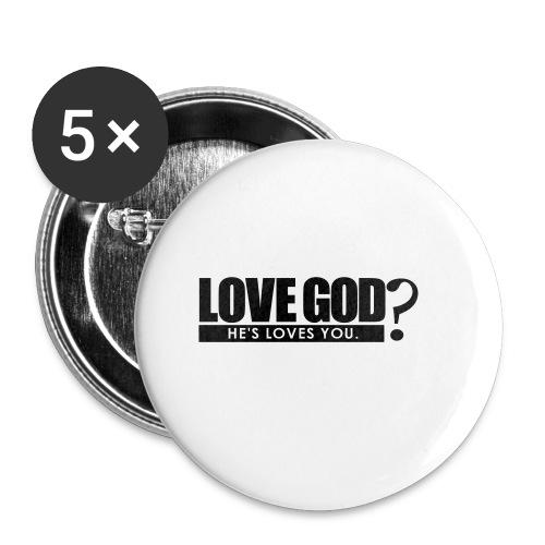 Love God? - Men - Small Buttons