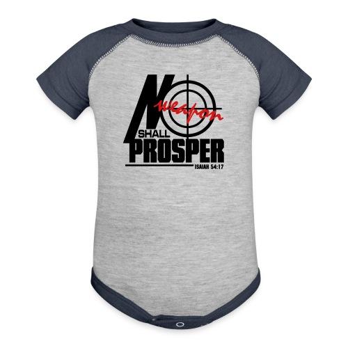 No Weapon Shall Prosper - Men - Baby Contrast One Piece