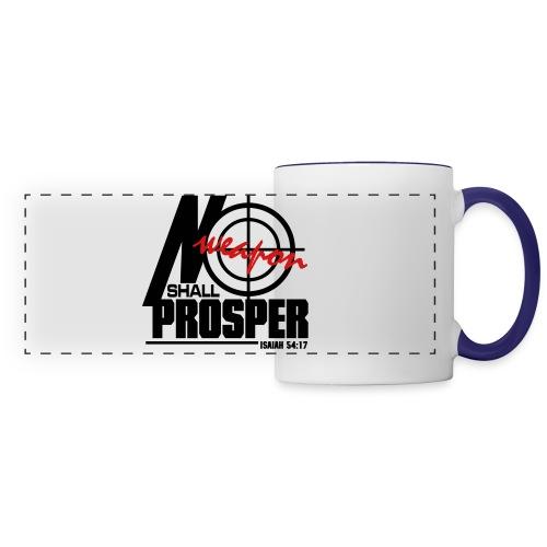No Weapon Shall Prosper - Men - Panoramic Mug