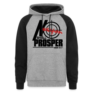 No Weapon Shall Prosper - Men - Colorblock Hoodie
