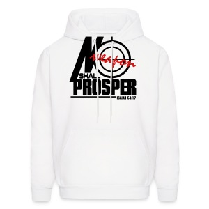 No Weapon Shall Prosper - Men - Men's Hoodie
