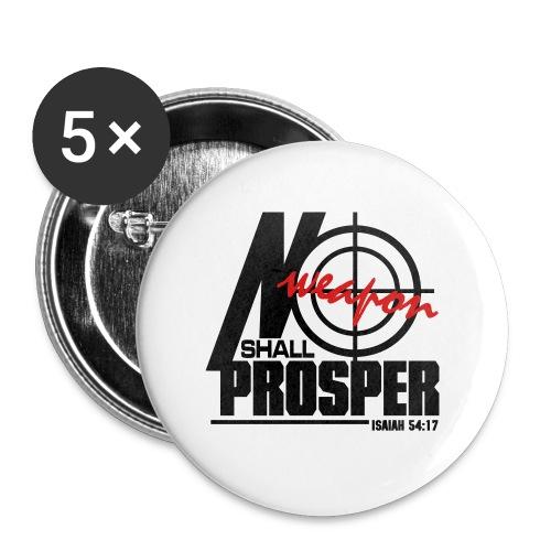No Weapon Shall Prosper - Men - Large Buttons