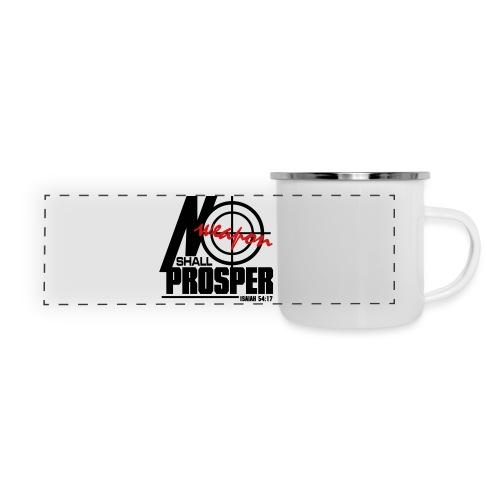 No Weapon Shall Prosper - Men - Panoramic Camper Mug