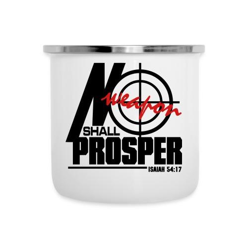 No Weapon Shall Prosper - Men - Camper Mug