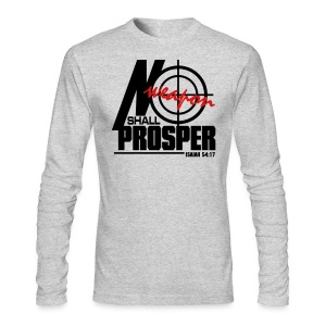 No Weapon Shall Prosper - Men - Men's Long Sleeve T-Shirt by Next Level