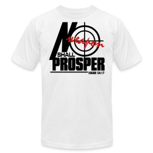 No Weapon Shall Prosper - Men - Men's T-Shirt by American Apparel