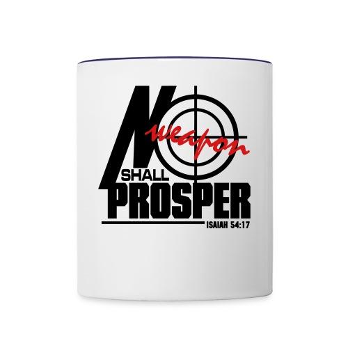 No Weapon Shall Prosper - Men - Contrast Coffee Mug