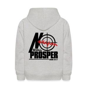No Weapon Shall Prosper - Men - Kids' Hoodie