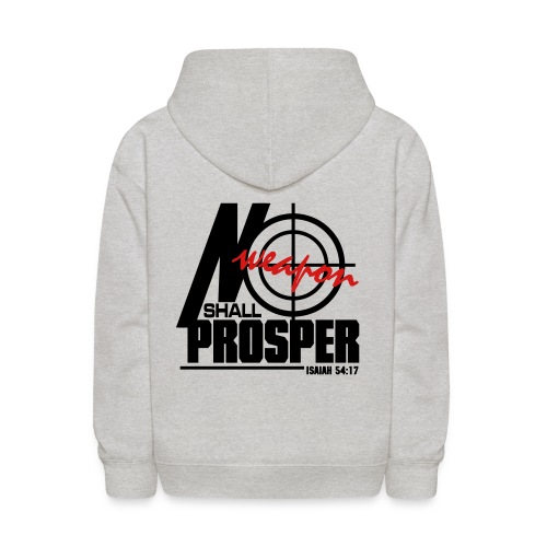 No Weapon Shall Prosper - Men - Kids' Hoodie