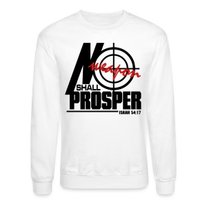 No Weapon Shall Prosper - Men - Crewneck Sweatshirt