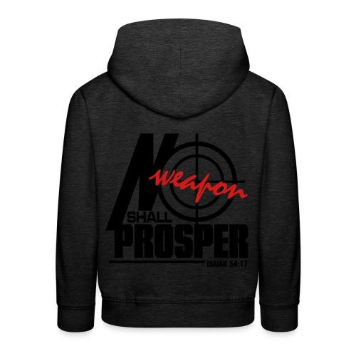 No Weapon Shall Prosper - Men - Kids' Premium Hoodie