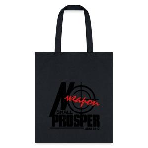 No Weapon Shall Prosper - Men - Tote Bag