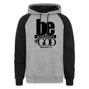 Be Imitators of GOD - Men - Colorblock Hoodie