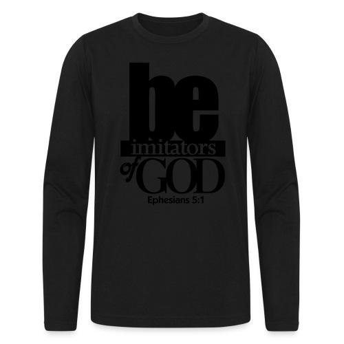 Be Imitators of GOD - Men - Men's Long Sleeve T-Shirt by Next Level