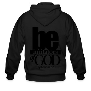 Be Imitators of GOD - Men - Men's Zip Hoodie