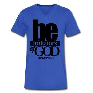Be Imitators of GOD - Men - Men's V-Neck T-Shirt by Canvas