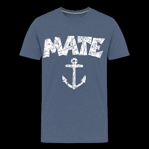 Mate Anchor Sailing Design (Distressed White)