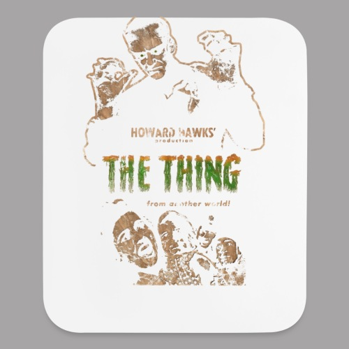 The Thing From Another World Men's T Shirt - Mouse pad Vertical