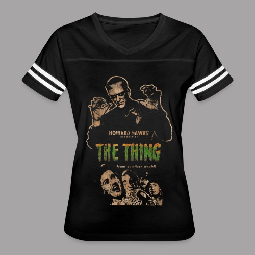 The Thing From Another World Men's T Shirt - Women's Vintage Sport T-Shirt