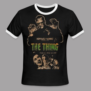 The Thing From Another World Men's T Shirt - Men's Ringer T-Shirt