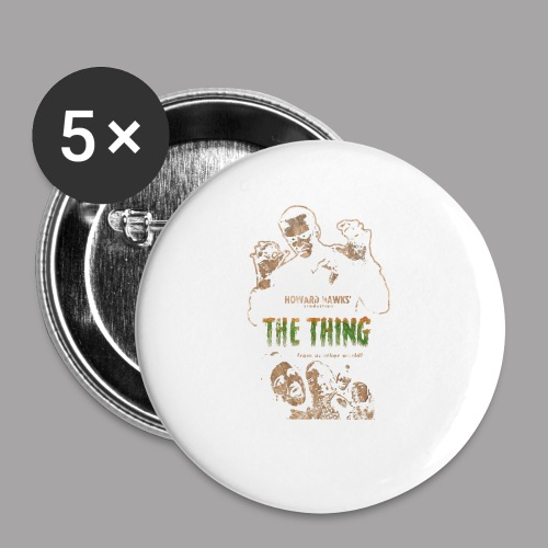 The Thing From Another World Men's T Shirt - Large Buttons