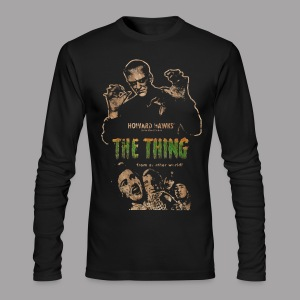 The Thing From Another World Men's T Shirt - Men's Long Sleeve T-Shirt by Next Level