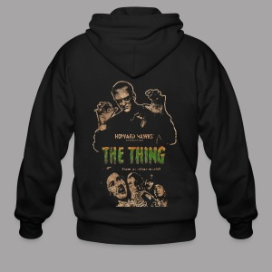 The Thing From Another World Men's T Shirt - Men's Zip Hoodie